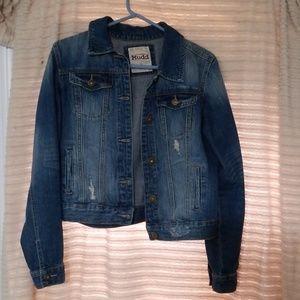Mudd cropped denim jacket